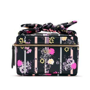 Victoria's Secret Floral Train Case.  NWT